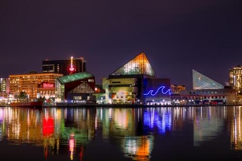 Landscape of Baltimore, Maryland